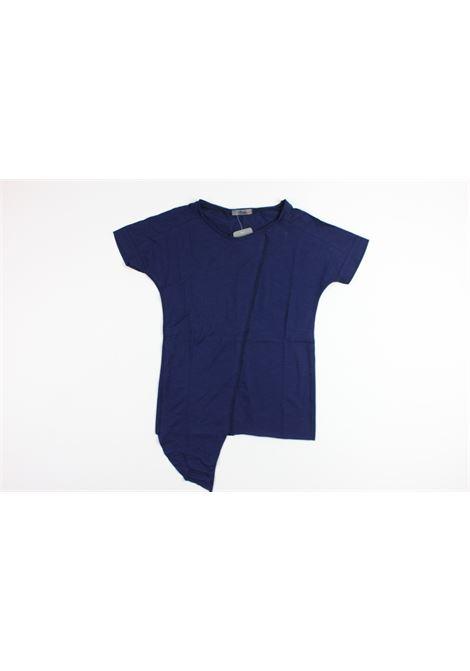 cucitura centrale AIKO | T-shirts | SHIRT009BLUE