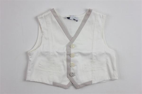 ALETTA | waistcoat | 8680WHITE