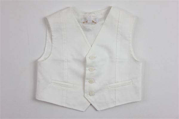 ALETTA | waistcoat | 8688WHITE