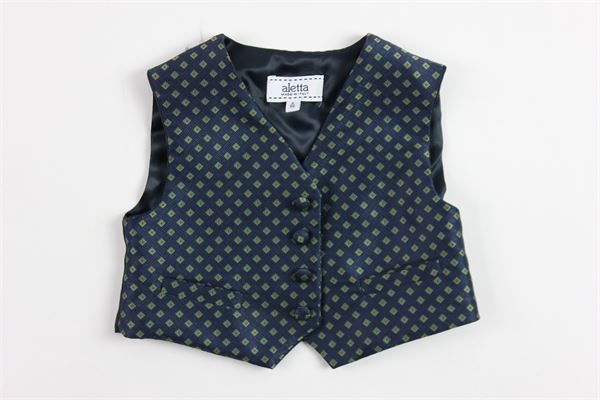 ALETTA | waistcoat | MA44589BLUE