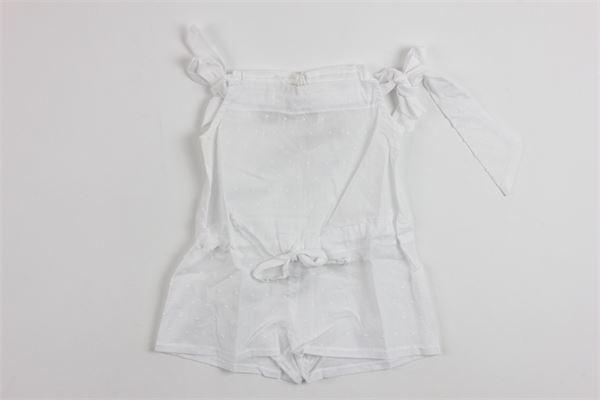 ALMICOCCA   little suit   8001WHITE