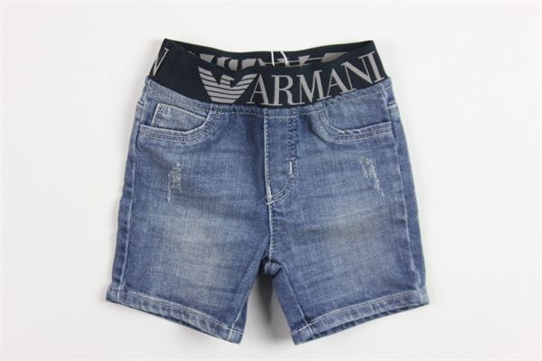ARMANI | short pant | 9109DENIM