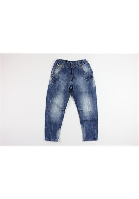 jeans strappato ASTON MARTIN | Pantaloni | PANT011DENIM