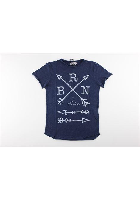 con stampa BERNA | T-shirts | BRNS8001TSBLUE NAVY