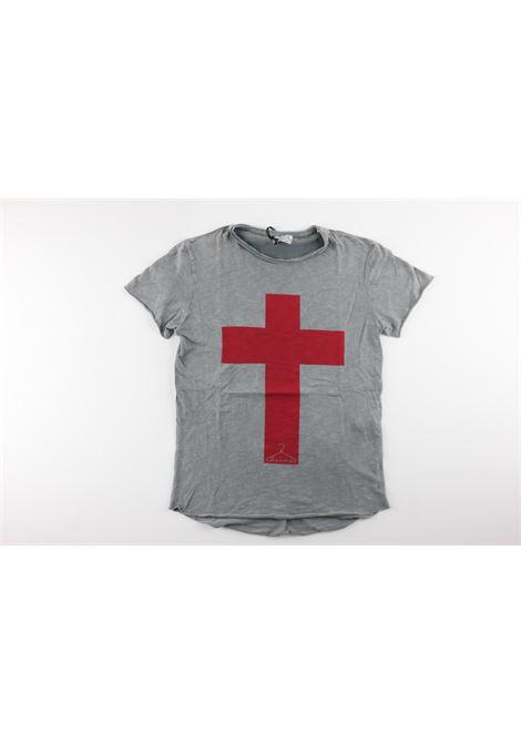 con stampa BERNA | T-shirts | BRNS8005TSLIGHT GREY