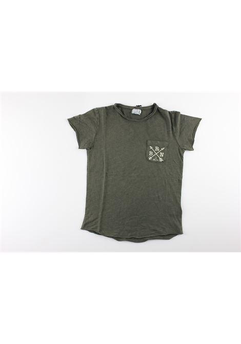 BERNA | T-shirts | BRNS8007TSMILITARY GREEN