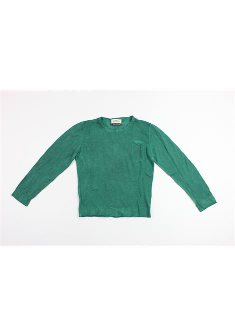 con toppe BEST BAND | Shirts | BVA340322GREEN