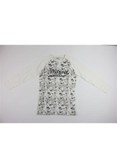 stampa fiori BNY | Shirts | BY105WHITE