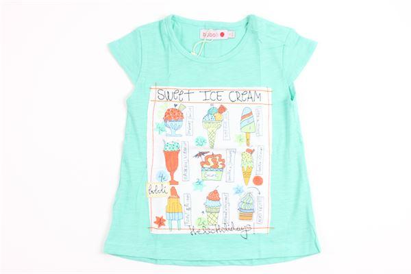 BOBOLI   t_shirt   215053GREEN