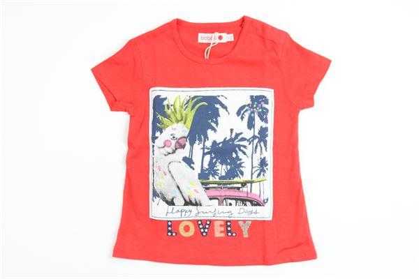 BOBOLI   t_shirt   225032RED