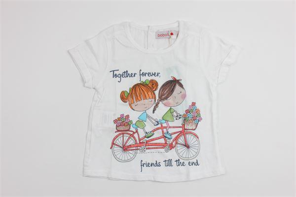 BOBOLI   t_shirt   225144WHITE
