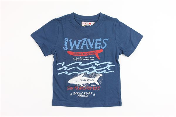 stampa squalo BOBOLI | T-shirts | 305020BLUE