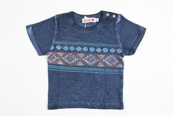 stampa fantasia BOBOLI | T-shirts | 315065BLUE