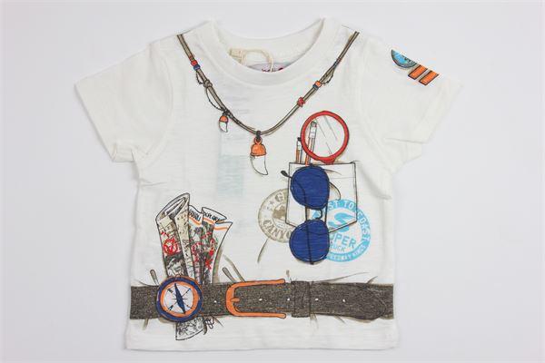stampa fantasia BOBOLI | T-shirts | 335067WHITE