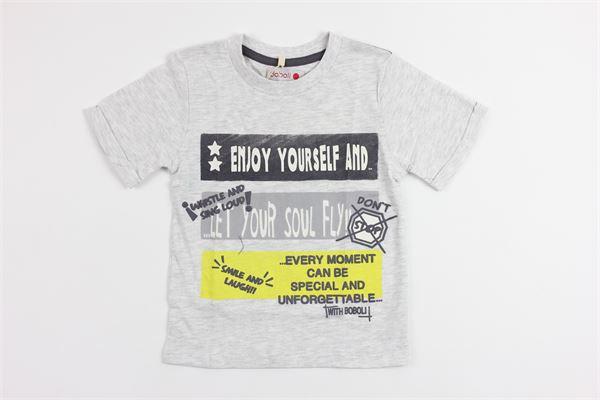 stampa fantasy BOBOLI | T-shirts | 345068GREY