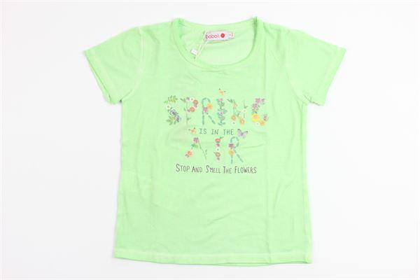 BOBOLI   t_shirt   435057GREEN