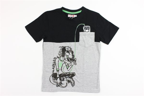 con taschino BOBOLI | T-shirts | 525091BLACK