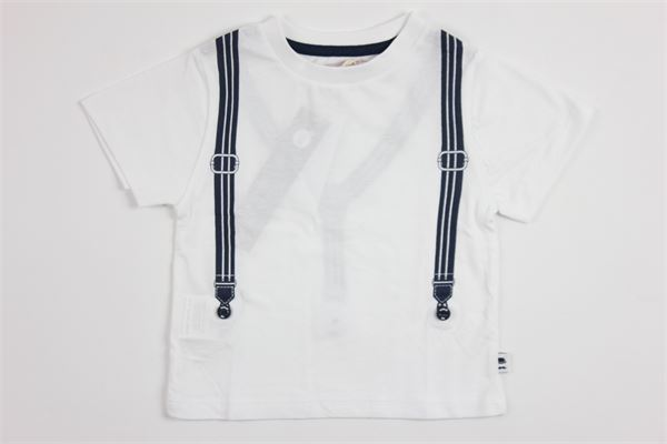 stampa bretelle BOBOLI | T-shirts | 715047WHITE