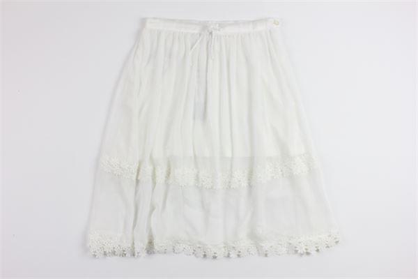 BOBOLI   skirt   725431WHITE