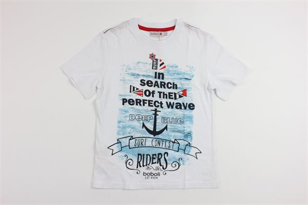 stampa mare BOBOLI | T-shirts | 835062WHITE