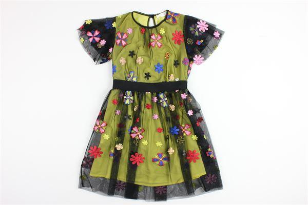 BYBLOS | Dress | BJ11187GIALLO/NERO
