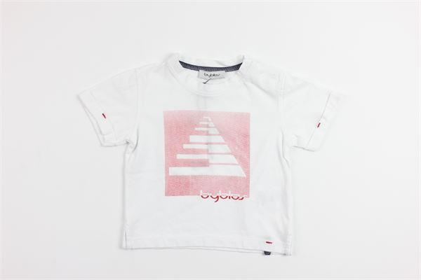 stampa BYBLOS | T-shirts | BU4343WHITE