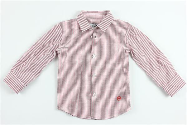 BYBLOS | shirt | BU4380BIANCO ROSSO