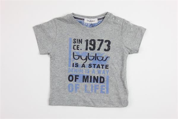 stampa BYBLOS | T-shirts | BU4406GREY