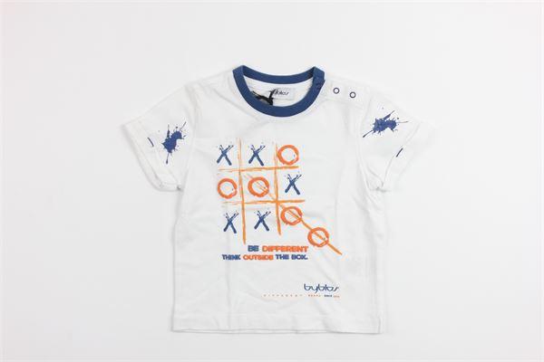 stampa tris BYBLOS | T-shirts | BU4412WHITE