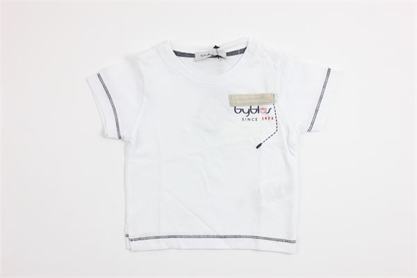 con taschino BYBLOS | T-shirts | BU4498WHITE