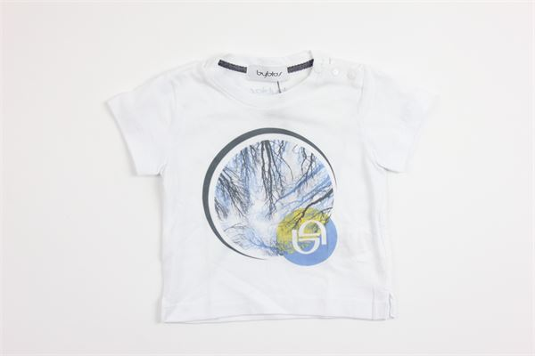 stampa BYBLOS | T-shirts | BU4526WHITE