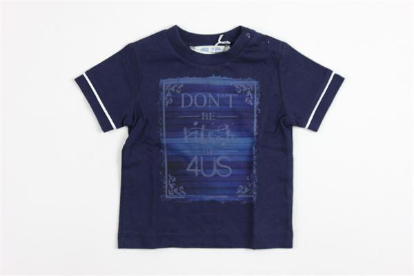 stampa 4us CESARE PACIOTTI | T-shirts | 8987BLUE