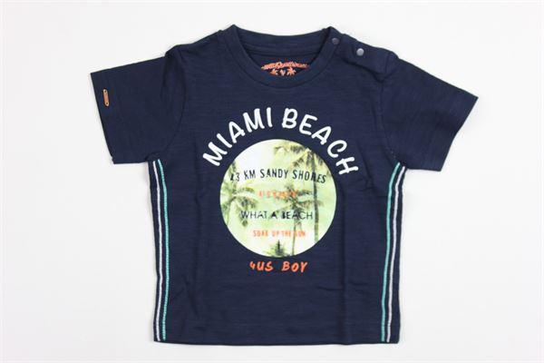 miami beach CESARE PACIOTTI | T-shirts | 8993BLUE