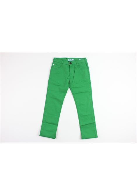 5 tasche CESARE PACIOTTI | Pantaloni | PTP900JGREEN