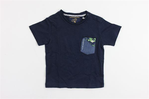 con taschino CESARE PACIOTTI | T-shirts | TSP418BBLUE