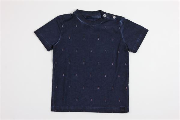 tinta unita DANIELE ALESSANDRINI | T-shirts | 0051BLUE