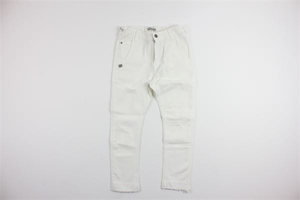 jeans 5 tasche DANIELE ALESSANDRINI | Pantaloni | 35D0629TWHITE
