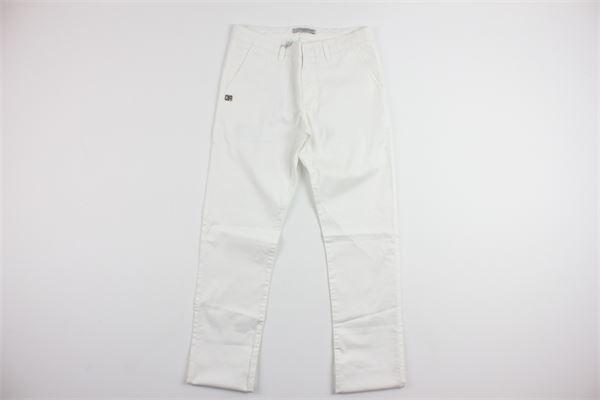 tasca america DANIELE ALESSANDRINI | Pantaloni | 35P356JXWHITE