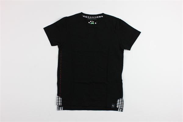 tinta unita DANIELE ALESSANDRINI | T-shirts | 646BLACK
