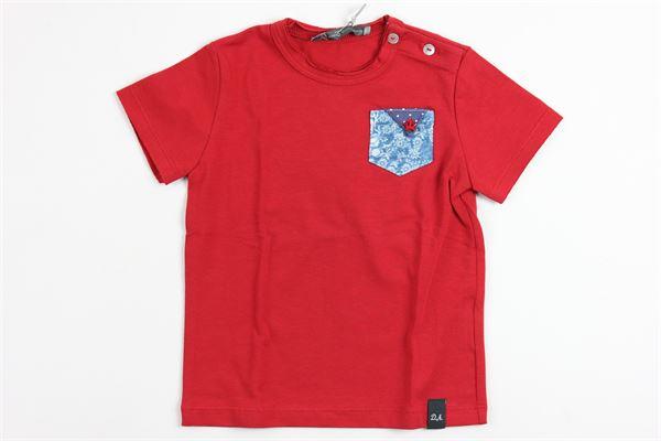 con taschino DANIELE ALESSANDRINI | T-shirts | 8935RED