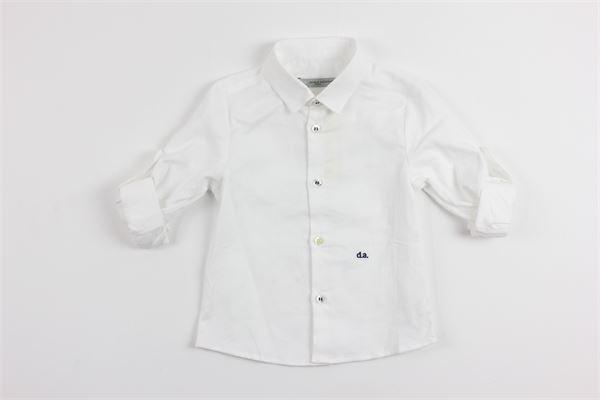 tinta unita DANIELE ALESSANDRINI | Camicie | 95C0010WHITE