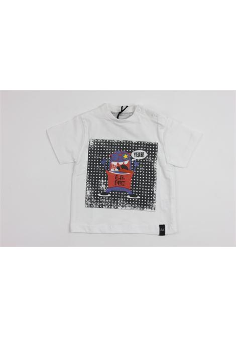 con stampa DANIELE ALESSANDRINI | T-shirts | DA76M0270WHITE