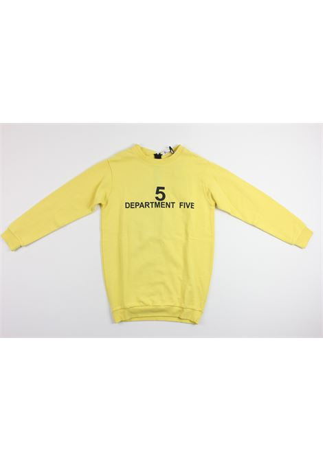 DEPARTMENT | sweatshirt | F016YELLOW