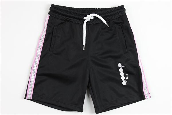 DIADORA   short pant   014918BLACK