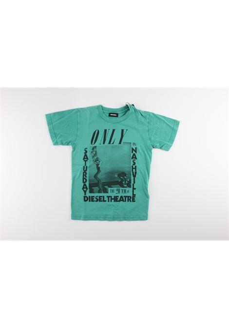 stampa diesel theatre DIESEL | T-shirts | 00J3SPK541