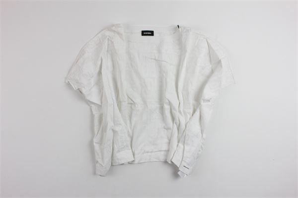 DIESEL   shirt   00J3TF00CZJWHOTE