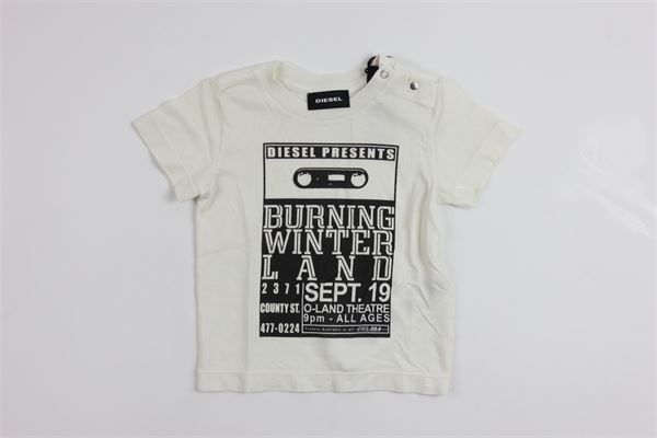 DIESEL | t_shirt | 00K1RFWHITE