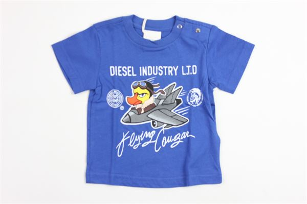 fantasia mezza manica DIESEL | T-shirts | 8907CON STAMPA