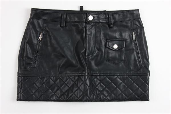 DSQUARED | skirt | DQ01W2D00K7BLACK