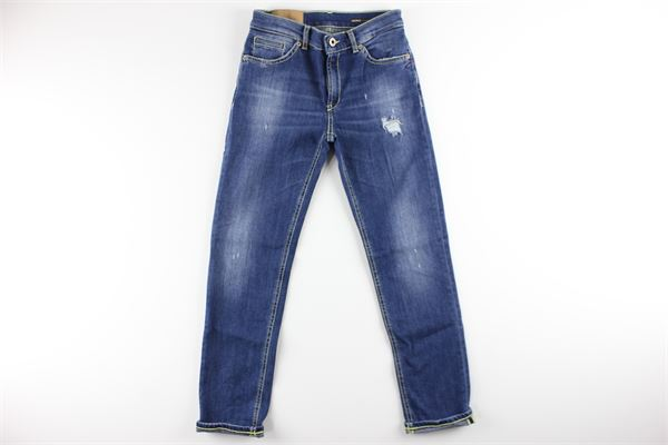 5 tasche bianco strappato DONDUP | Pantalon | DMPA204019B